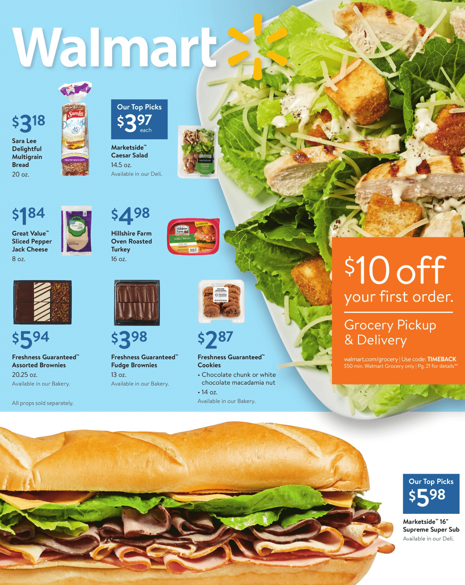 Walmart Weekly August 11 - 29, 2019 Page 1