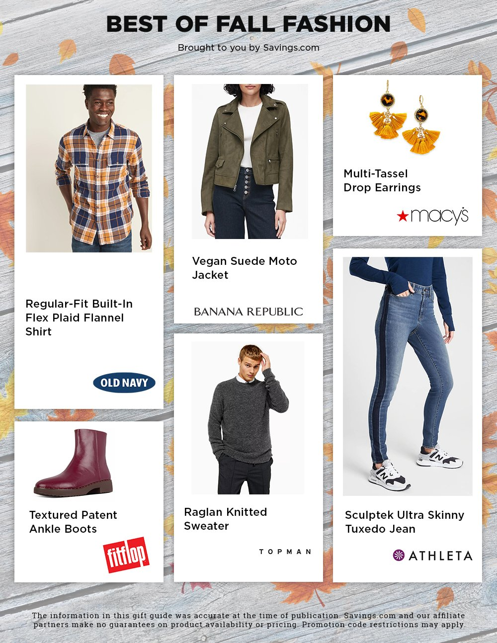 Fall Fashion Buying Guide 2019 Page 2
