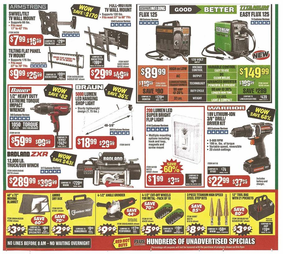 Harbor Freight Black Friday 2019 Page 2