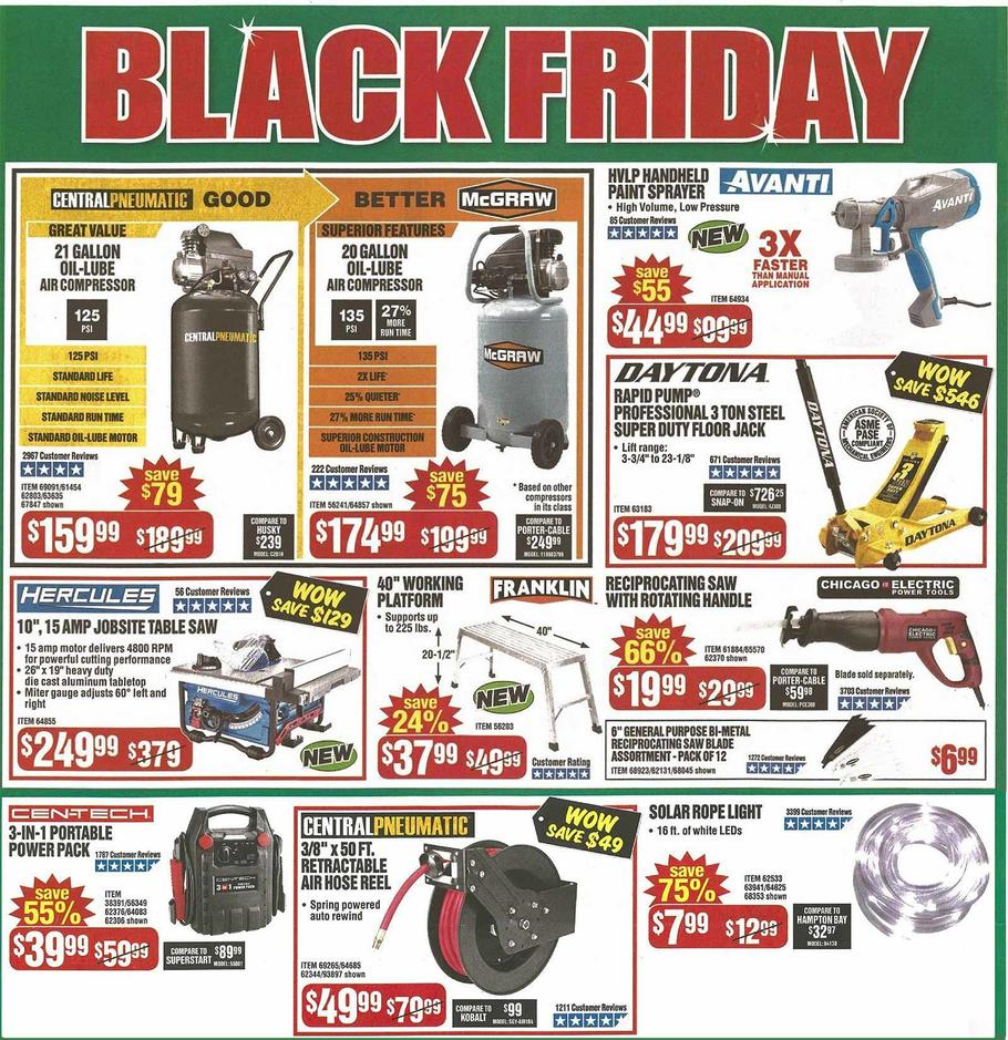 Harbor Freight Black Friday 2019 Page 3