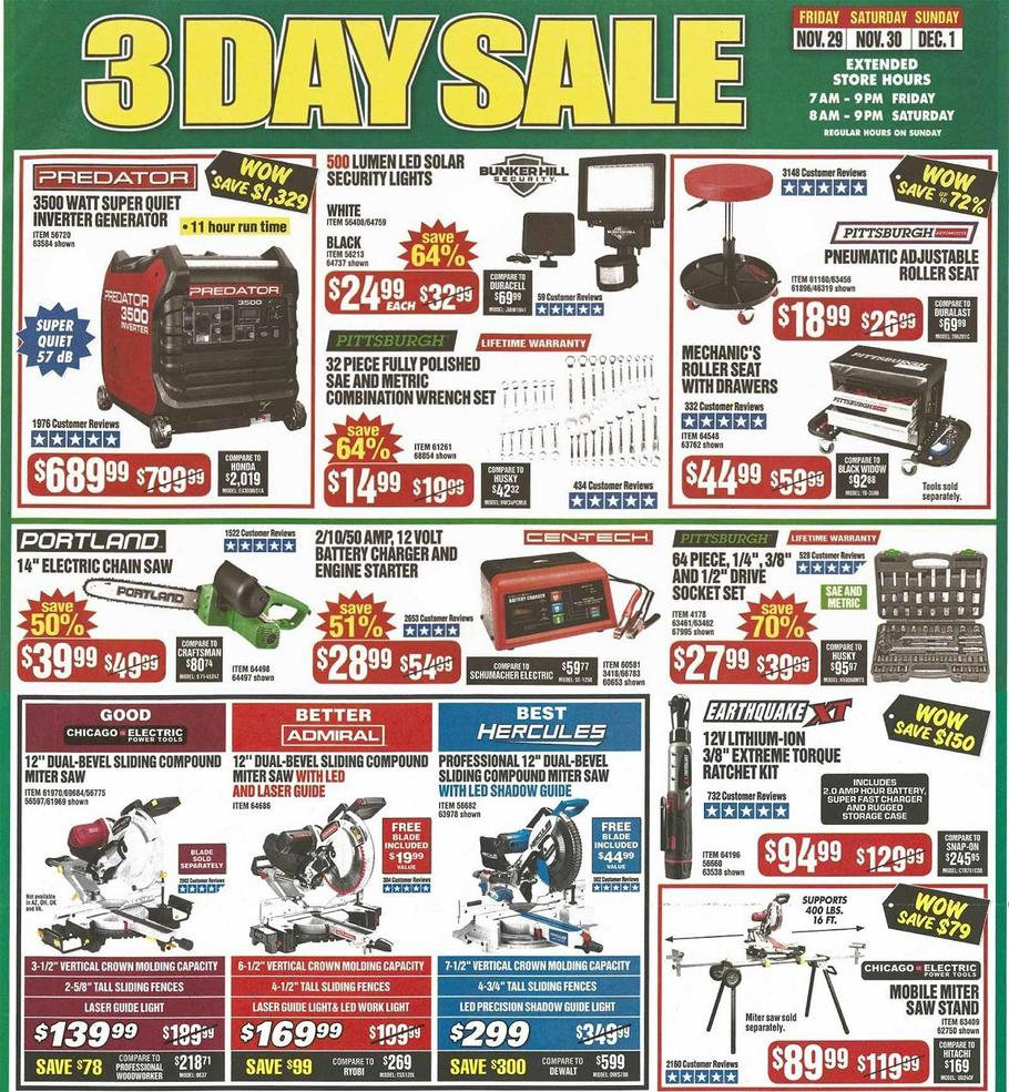 Harbor Freight Black Friday 2019 Page 5