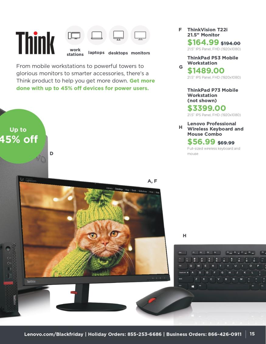 Lenovo Black Friday and Cyber Monday 2019 Page 15