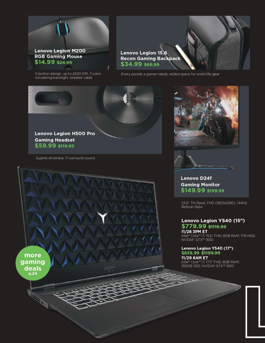 Lenovo Black Friday and Cyber Monday 2019 Page 16