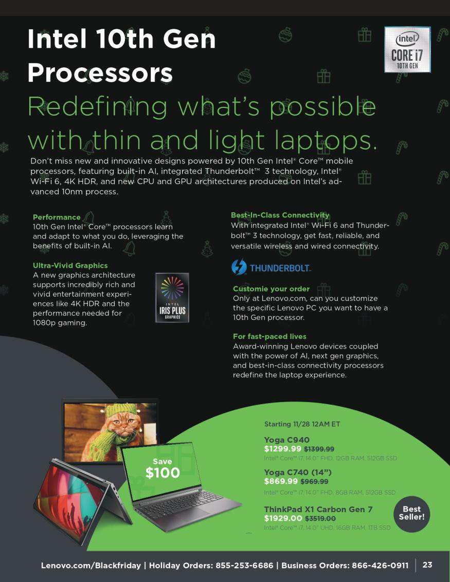 Lenovo Black Friday and Cyber Monday 2019 Page 23