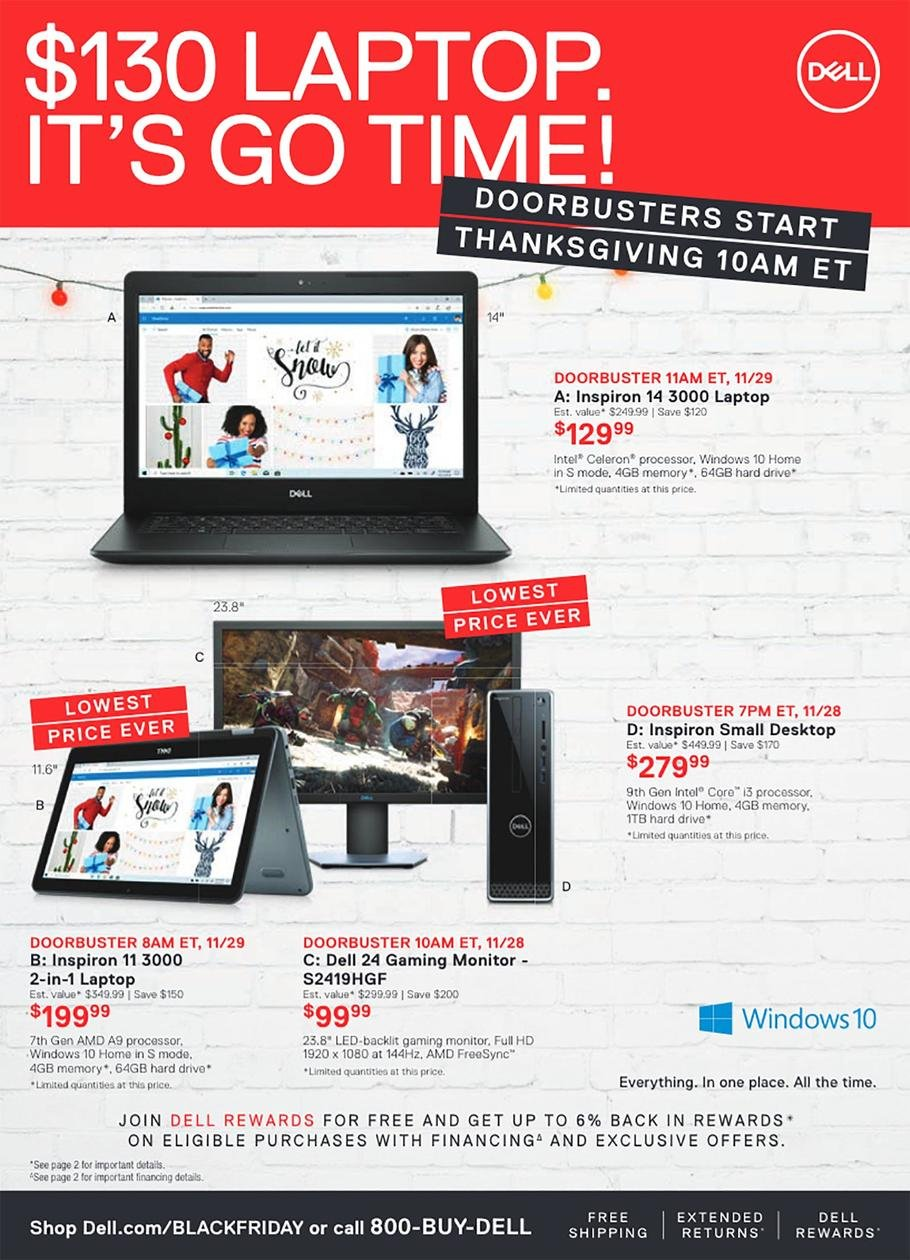 Dell Black Friday 2019 Page 2