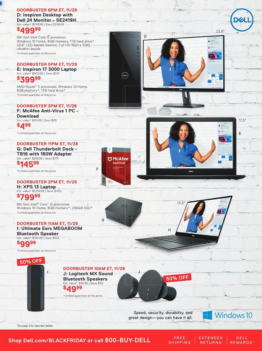Dell Black Friday 2019 Page 4
