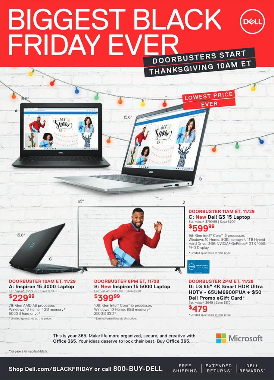 Dell Black Friday 2019 Page 5
