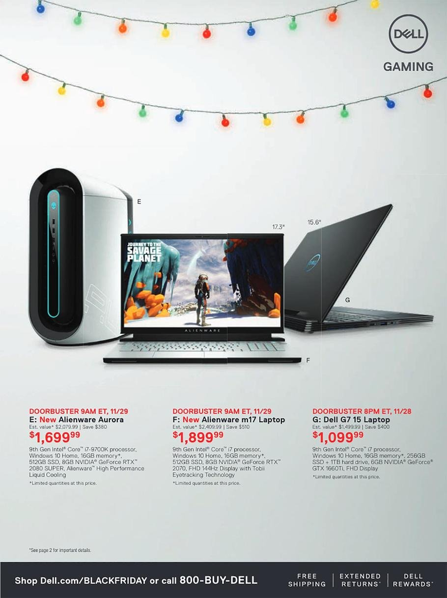 Dell Black Friday 2019 Page 7