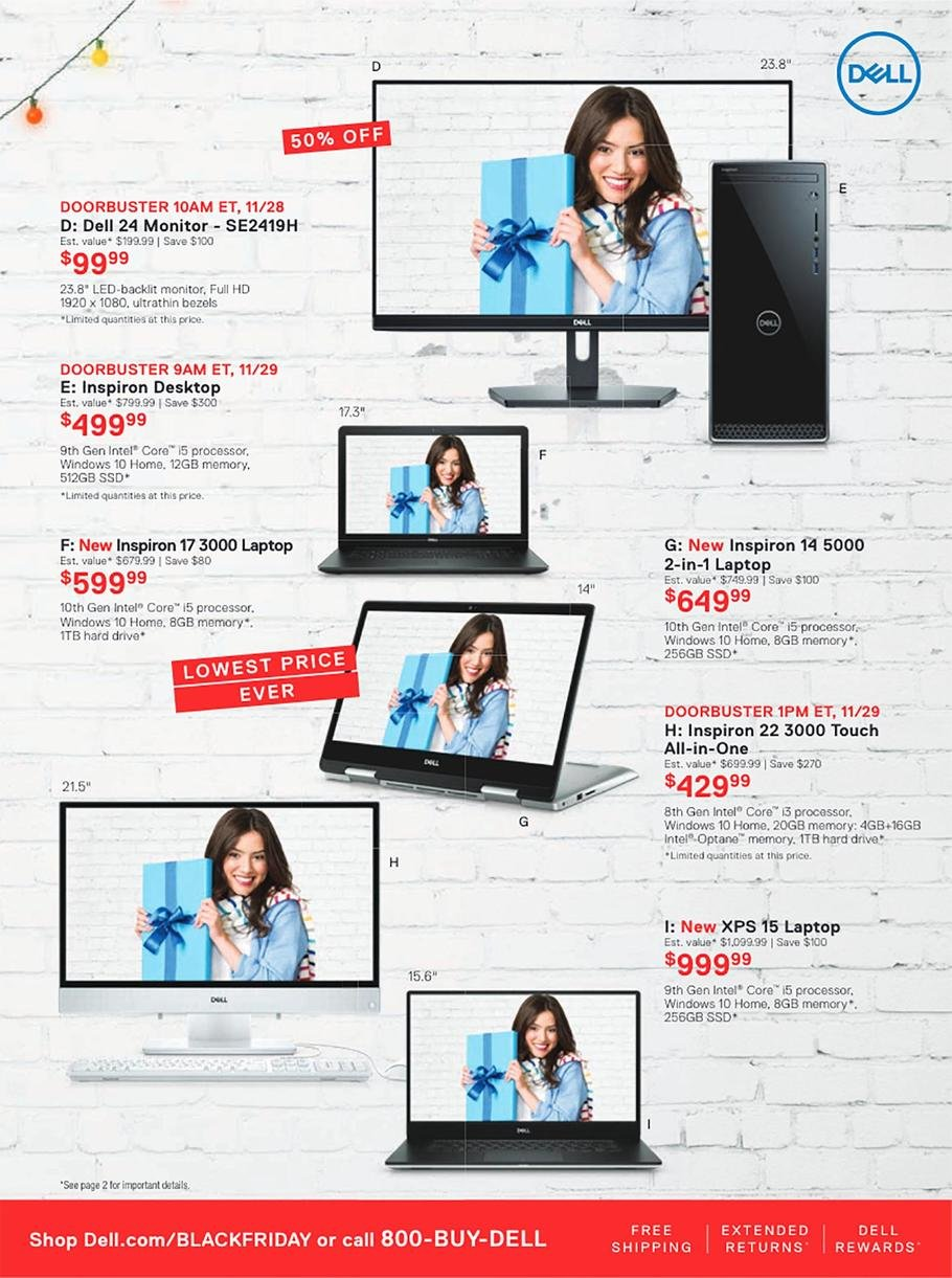 Dell Black Friday 2019 Page 9