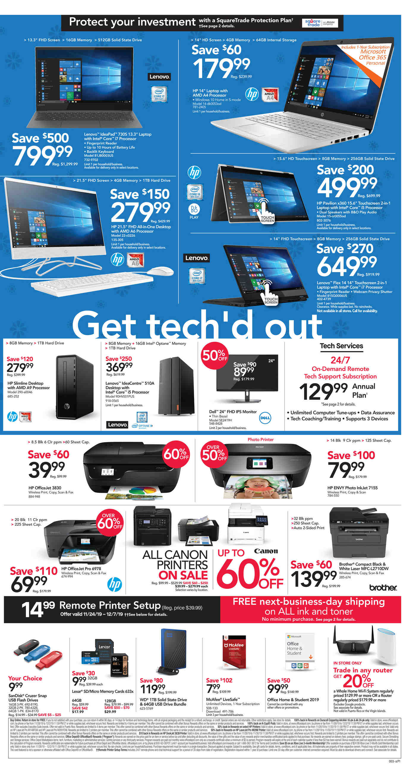 Office Depot and OfficeMax Black Friday 2019 Page 3