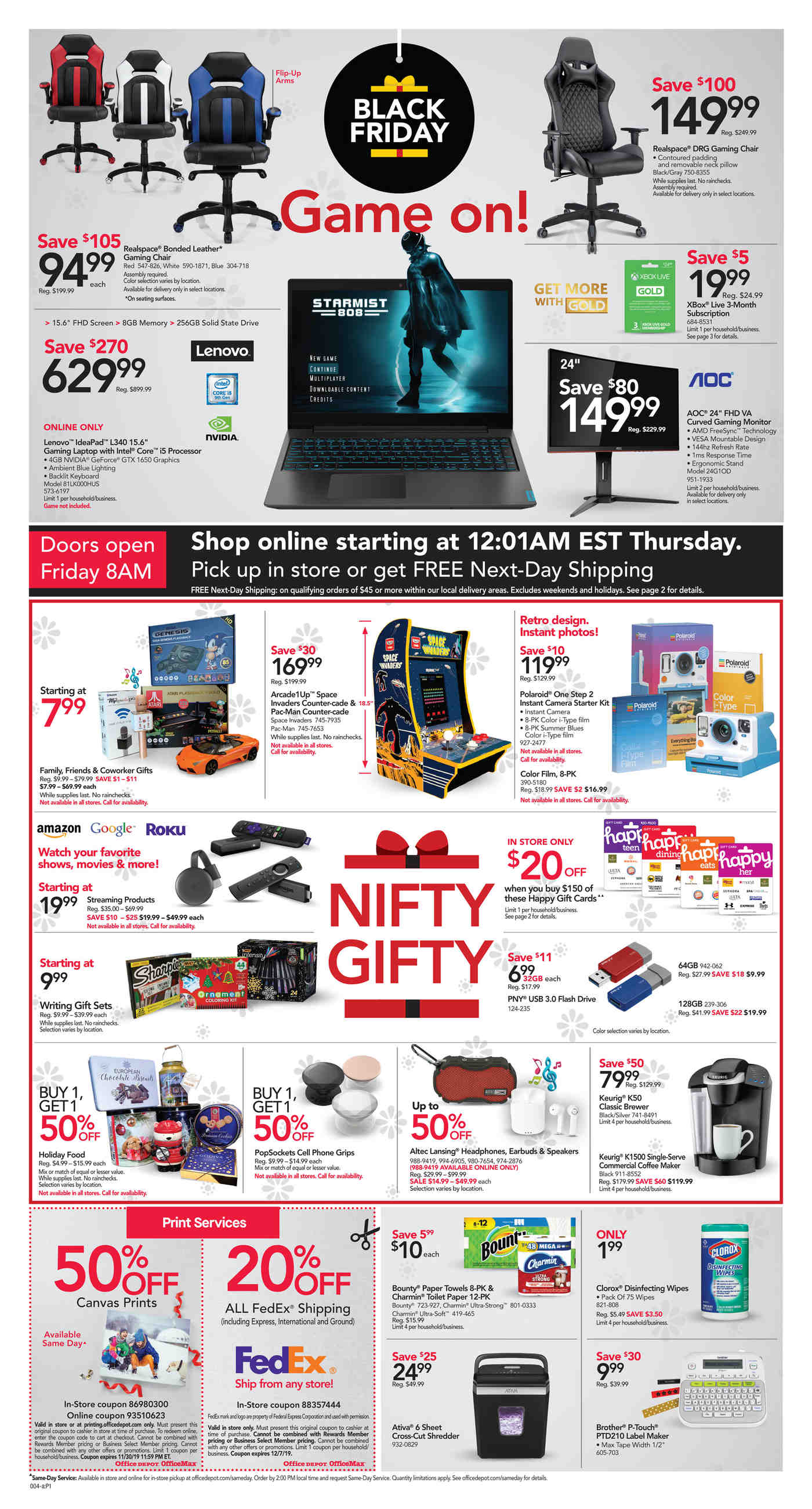 Office Depot and OfficeMax Black Friday 2019 Page 4