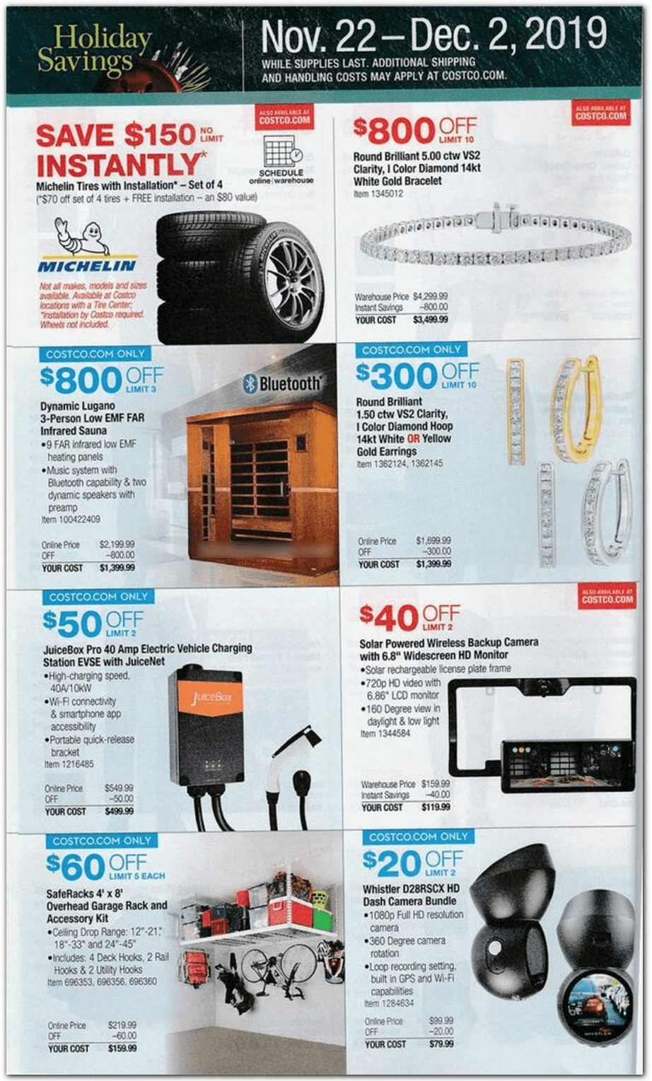 Costco Black Friday 2019 Page 22