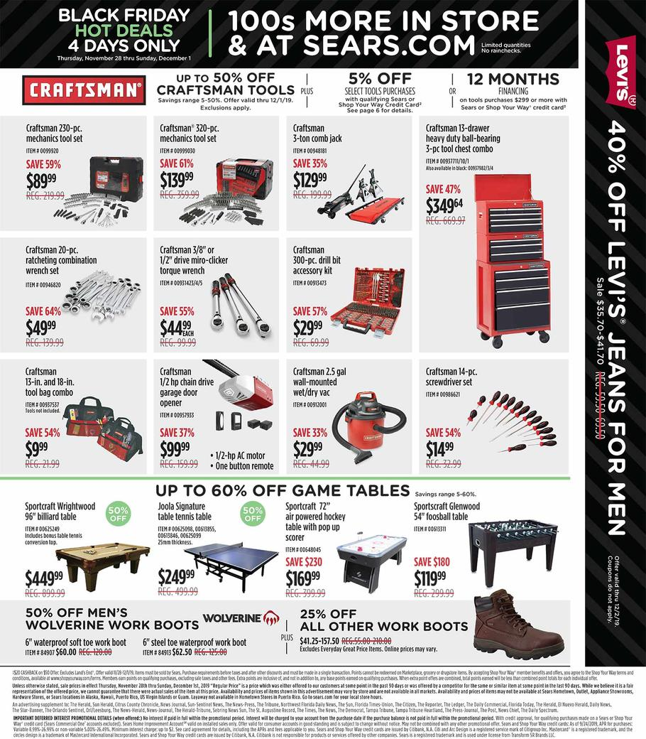 Sears Black Friday 2019 Page 4