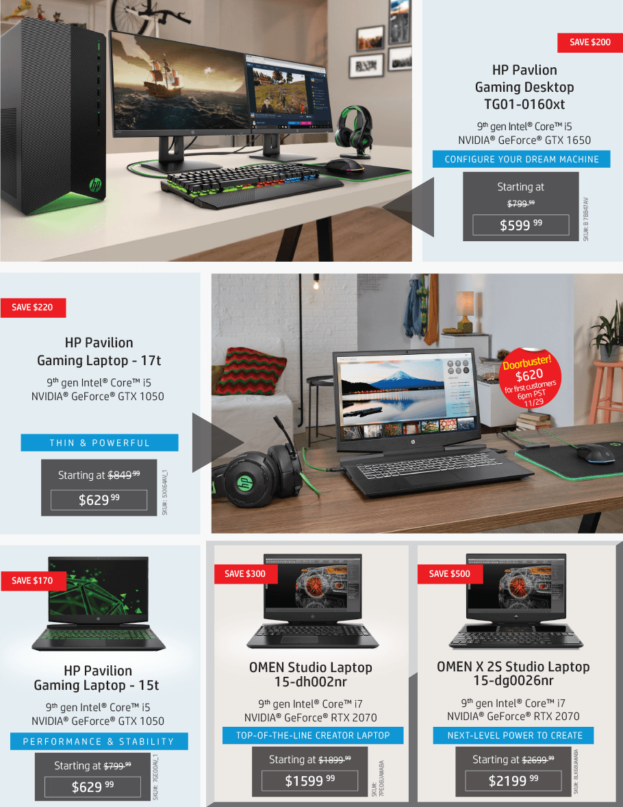 HP Black Friday 2019 Page 10
