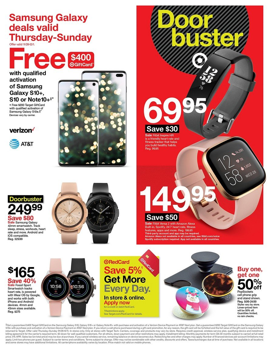 Target Black Friday 2019 Page 8