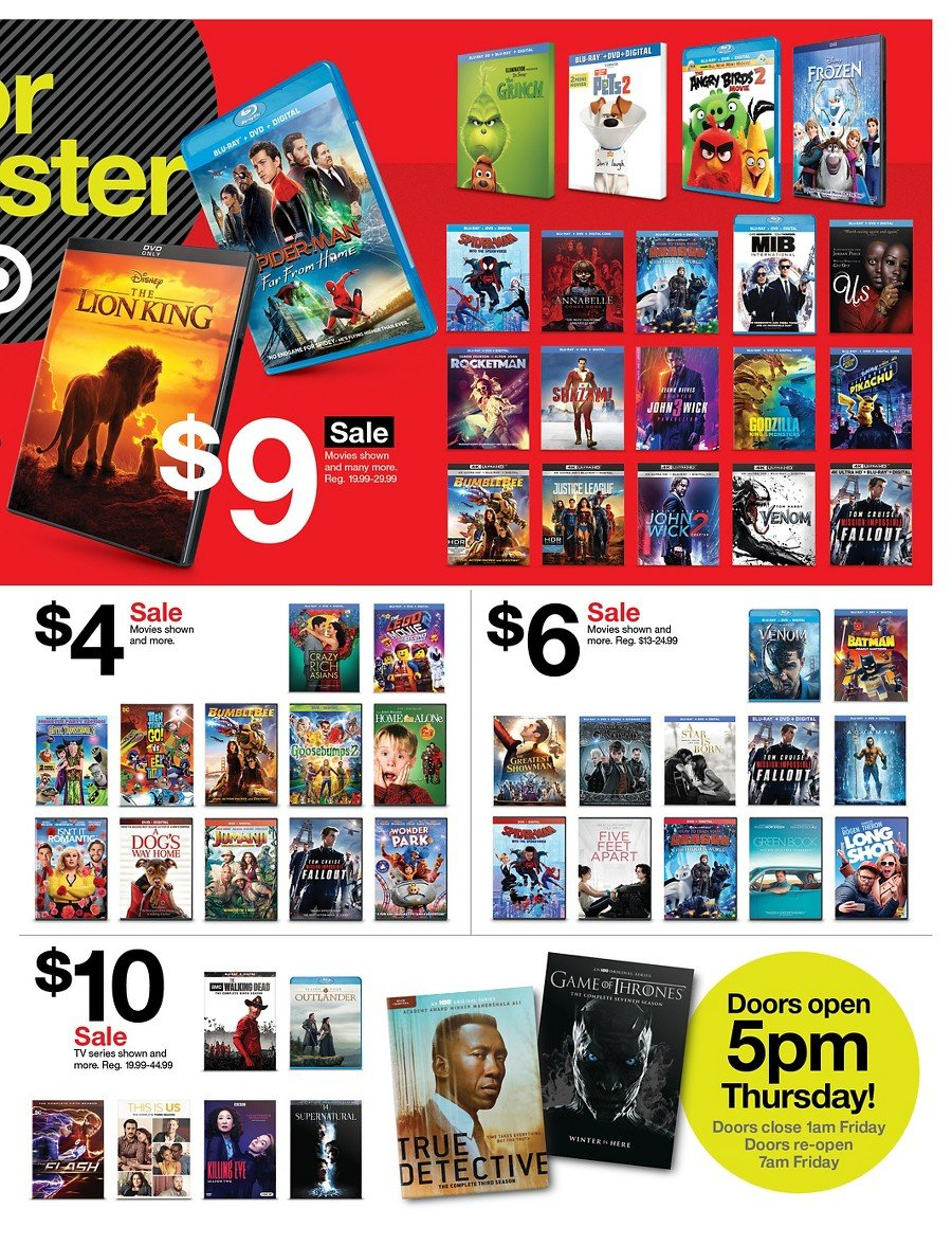 Target Black Friday 2019 Page 18