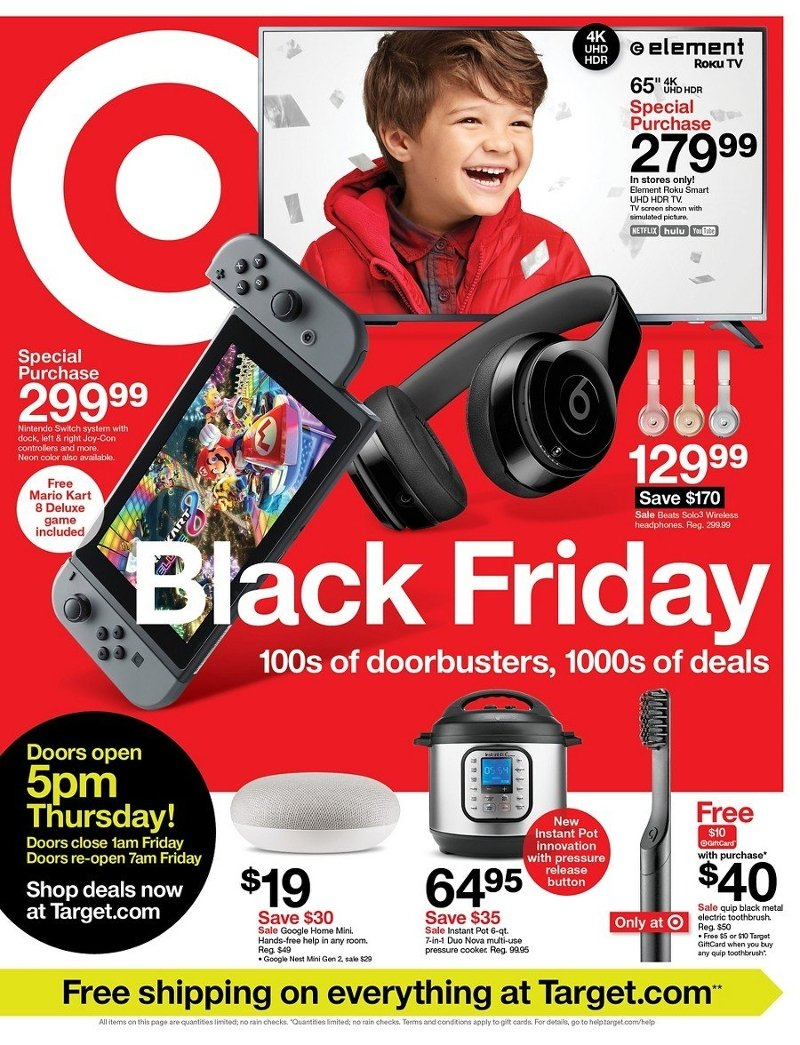 Target Black Friday 2019 Page 1