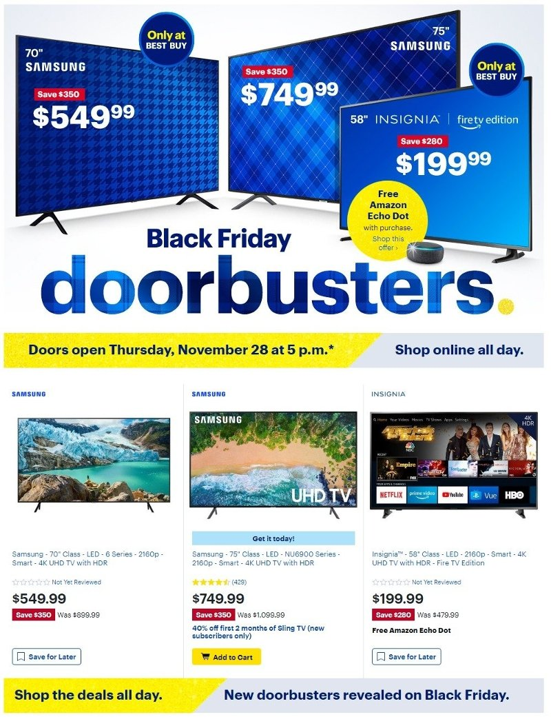 Best Buy Black Friday 2019 Page 1