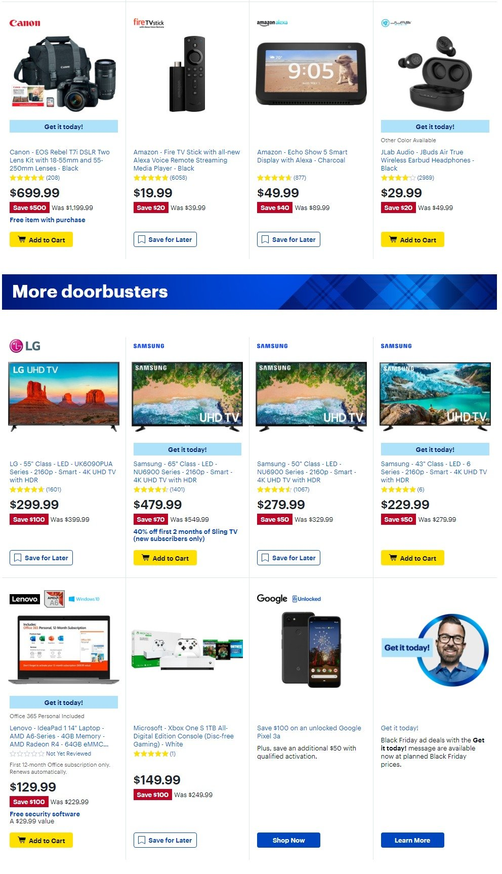 Best Buy Black Friday 2019 Page 3