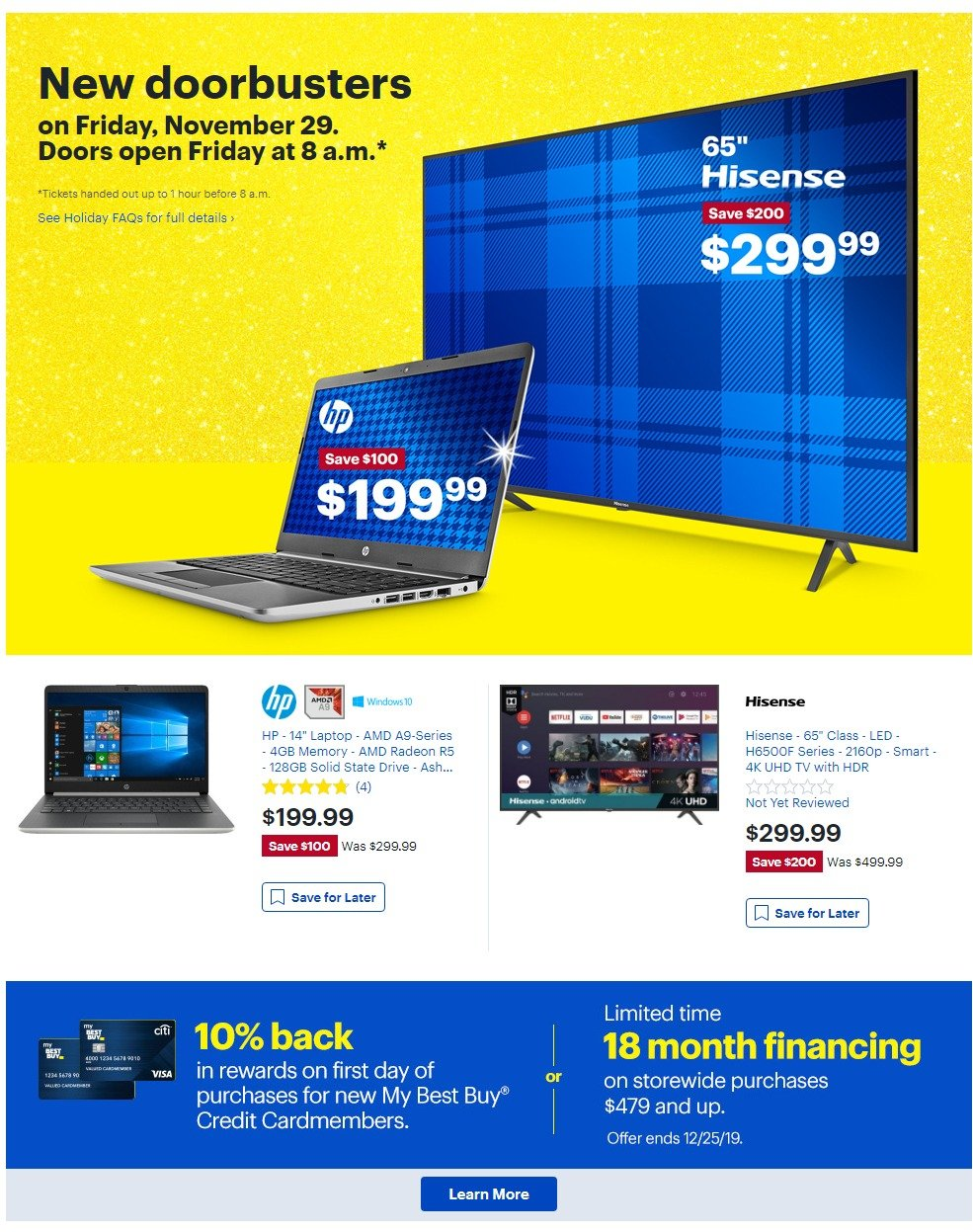 Best Buy Black Friday 2019 Page 5