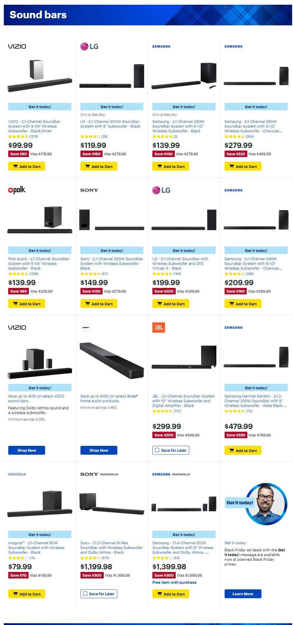 Best Buy Black Friday 2019 Page 11