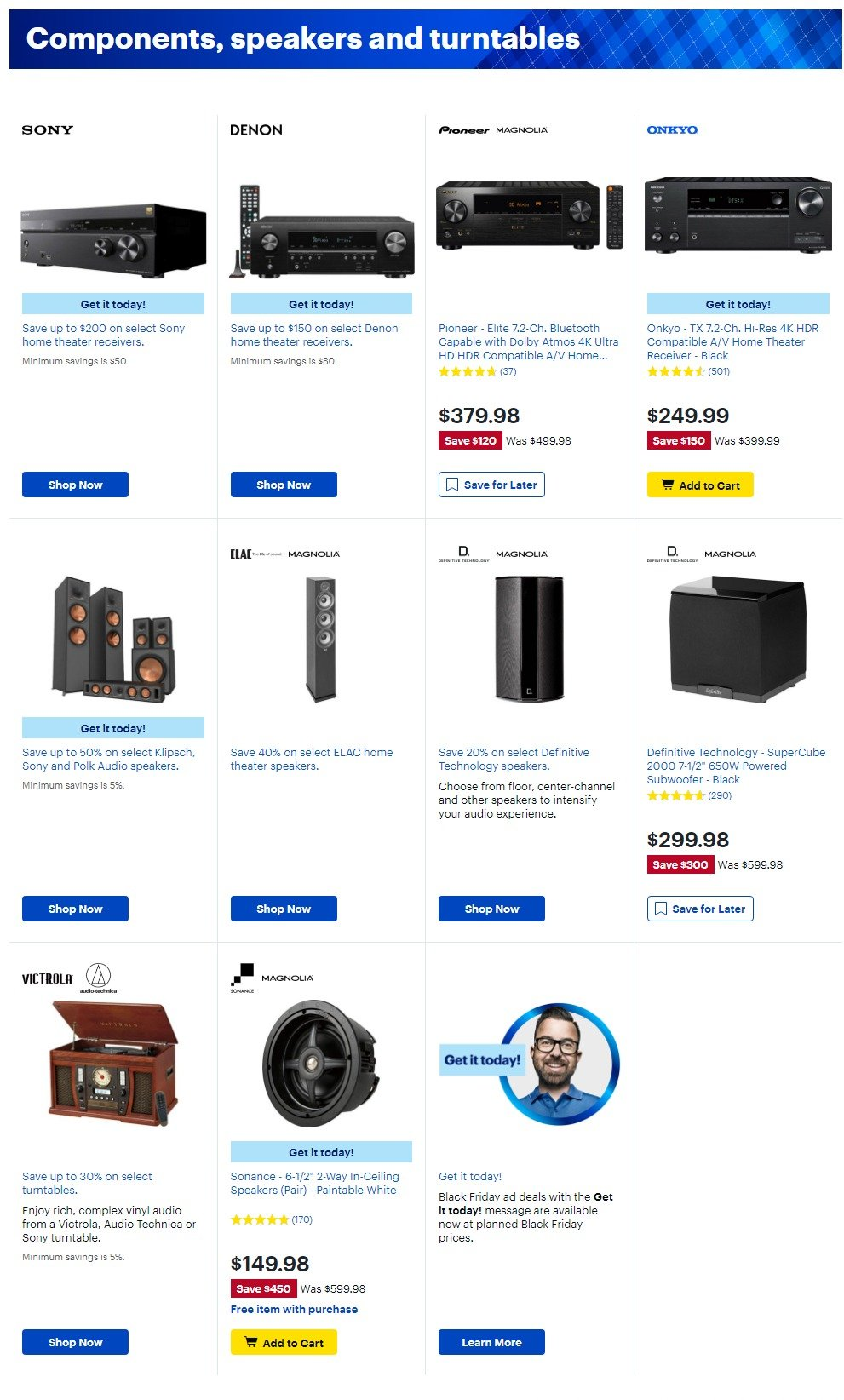 Best Buy Black Friday 2019 Page 14