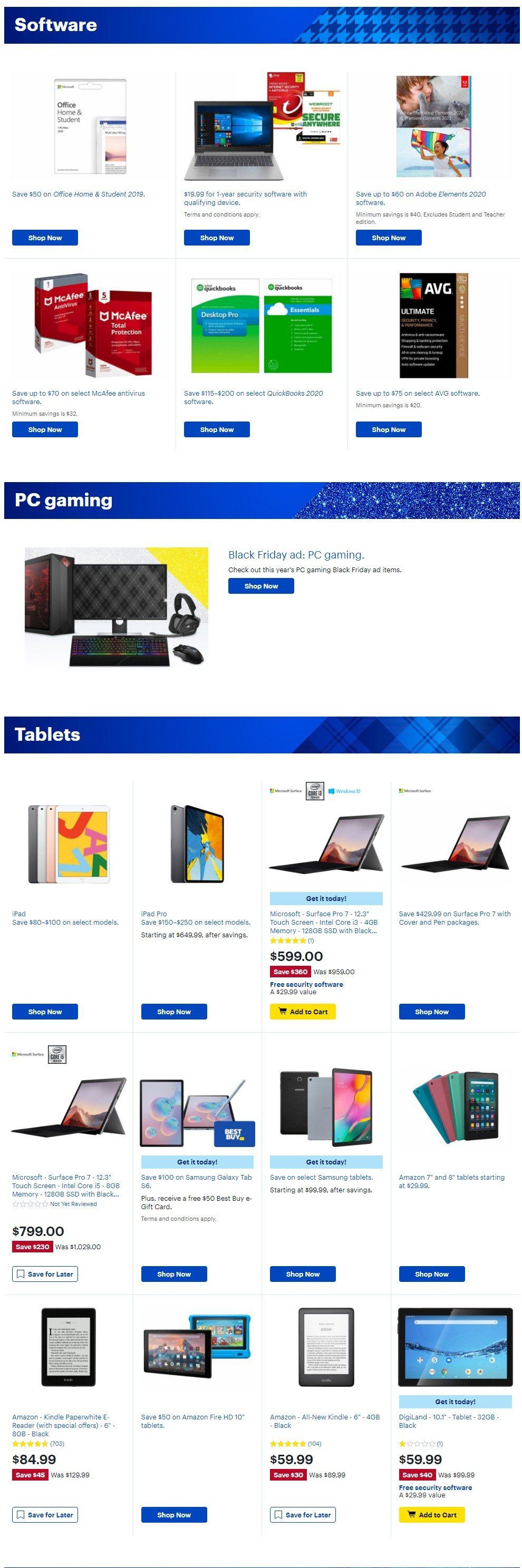 Best Buy Black Friday 2019 Page 20