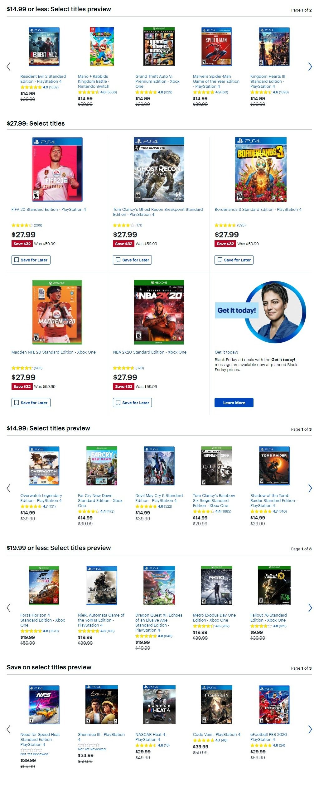 Best Buy Black Friday 2019 Page 25
