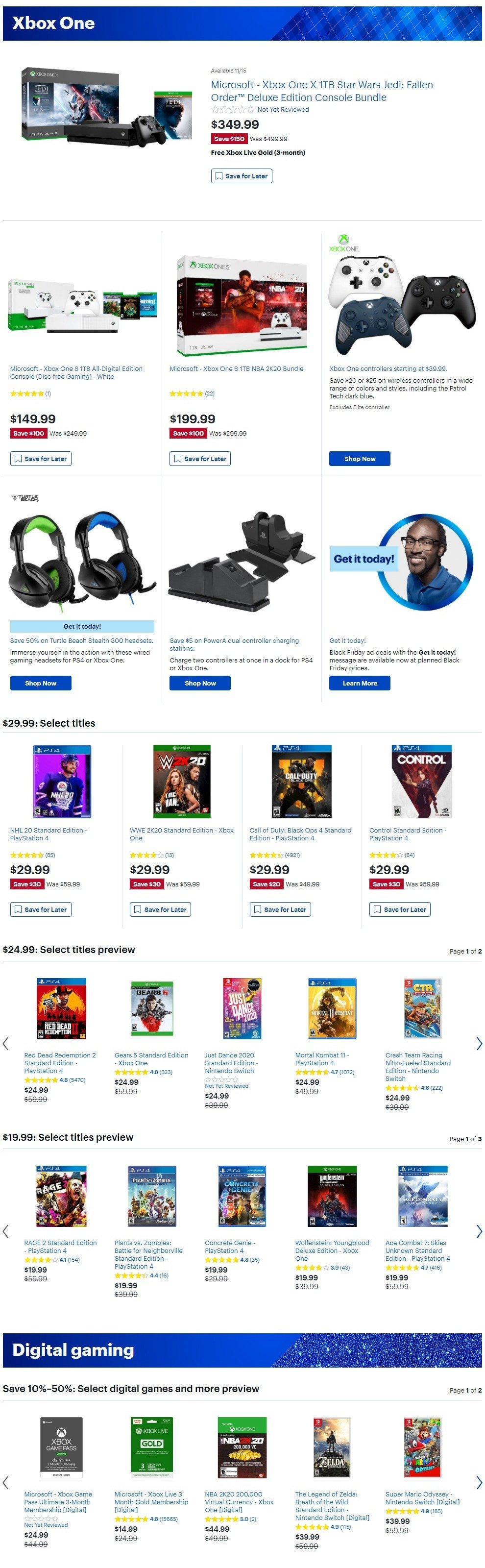 Best Buy Black Friday 2019 Page 26