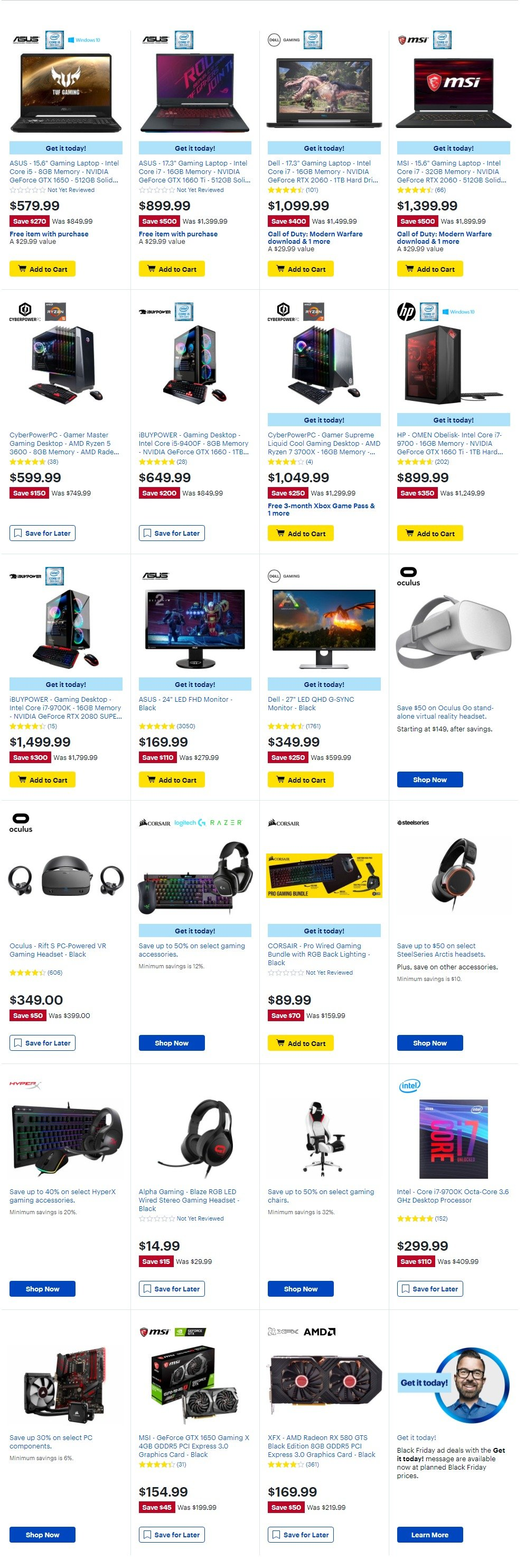 Best Buy Black Friday 2019 Page 50