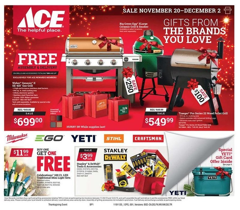 Ace Hardware Black Friday 2019 Page 1