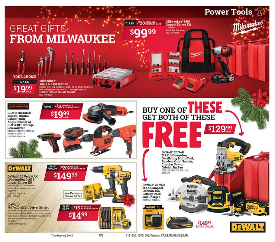 Ace Hardware Black Friday 2019 Page 3
