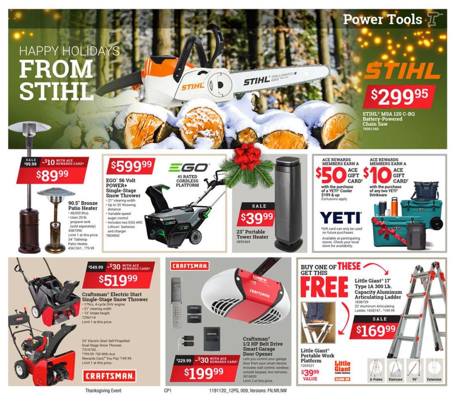 Ace Hardware Black Friday 2019 Page 9