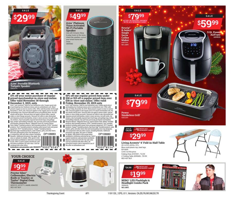 Ace Hardware Black Friday 2019 Page 11