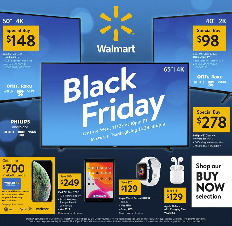 Walmart Black Friday 2019 Page 1