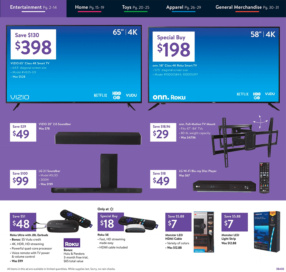 Walmart Black Friday 2019 Page 4