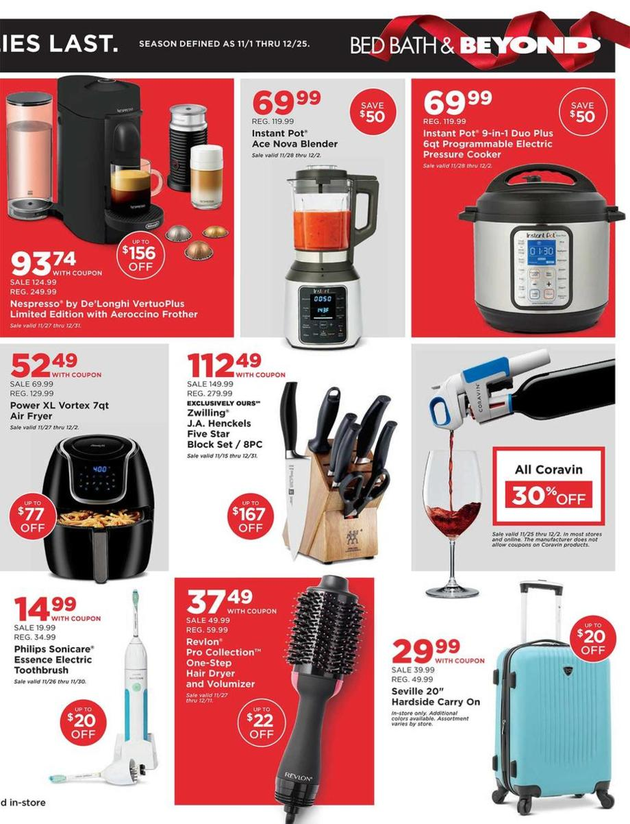 Bed Bath & Beyond Black Friday 2019 Page 3