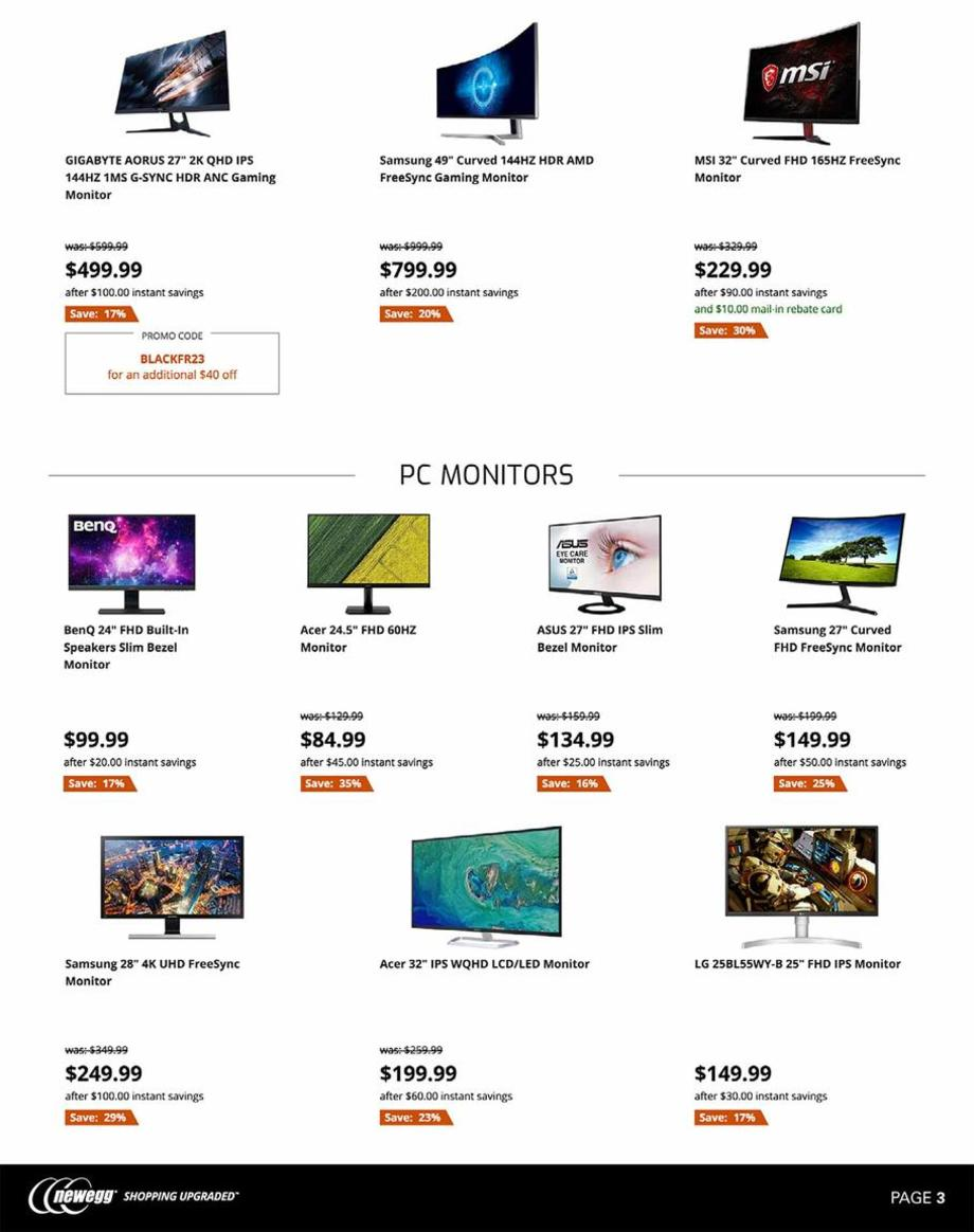 Newegg Black Friday 2019 Page 3