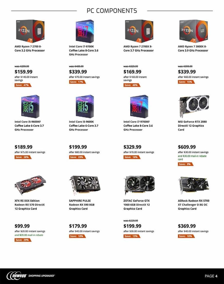 Newegg Black Friday 2019 Page 4
