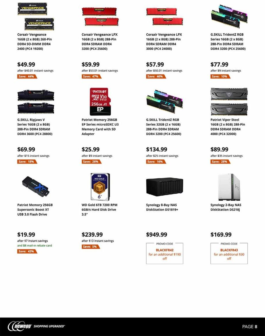 Newegg Black Friday 2019 Page 8