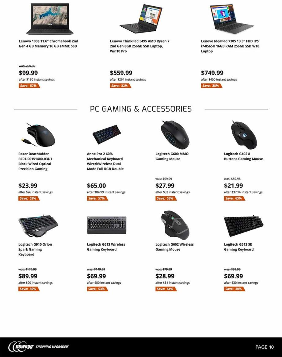 Newegg Black Friday 2019 Page 10