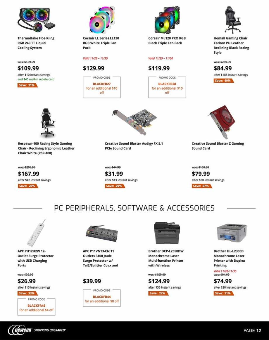 Newegg Black Friday 2019 Page 12