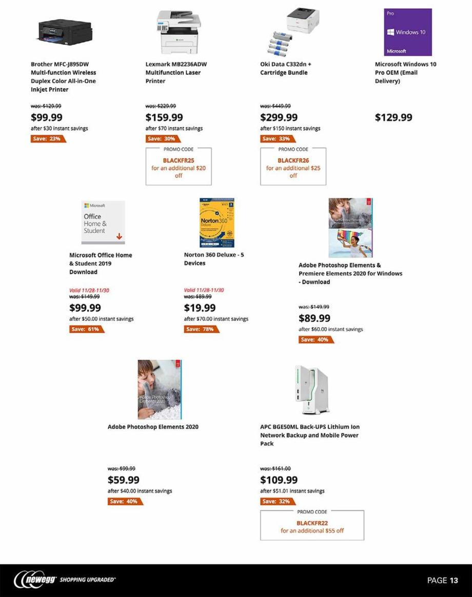 Newegg Black Friday 2019 Page 13