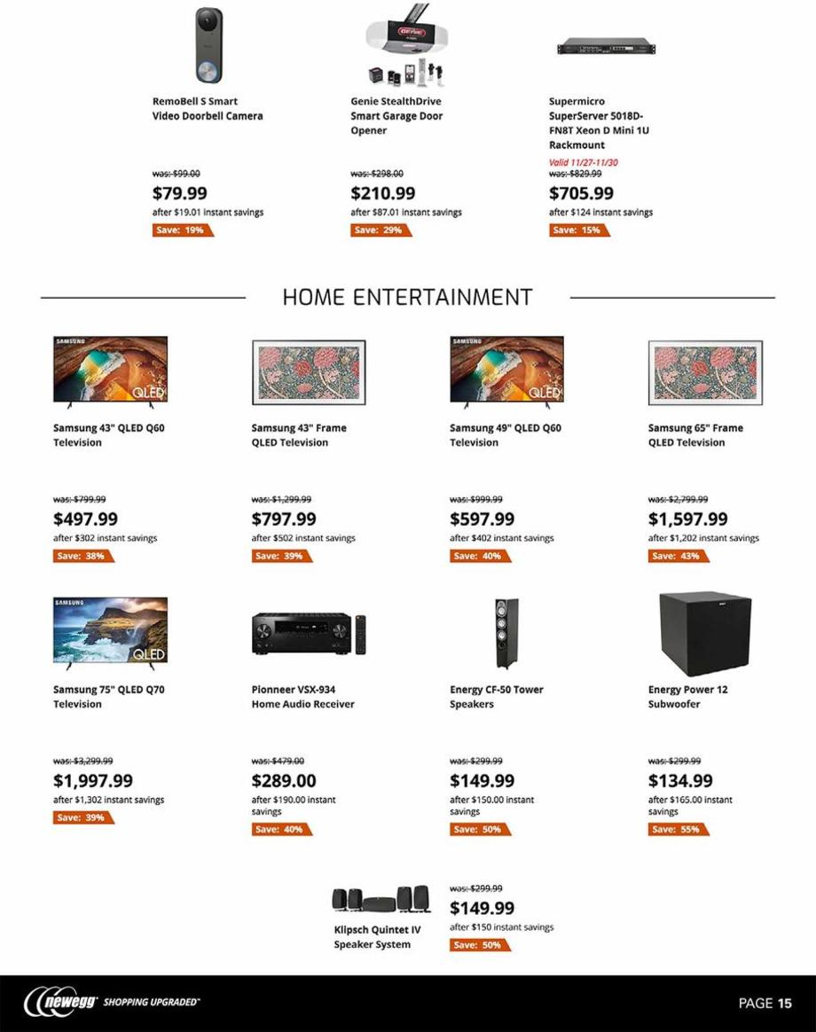 Newegg Black Friday 2019 Page 15