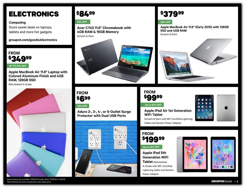 Groupon Black Friday 2019 Page 2