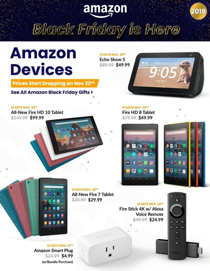 Amazon Black Friday 2019 Page 1