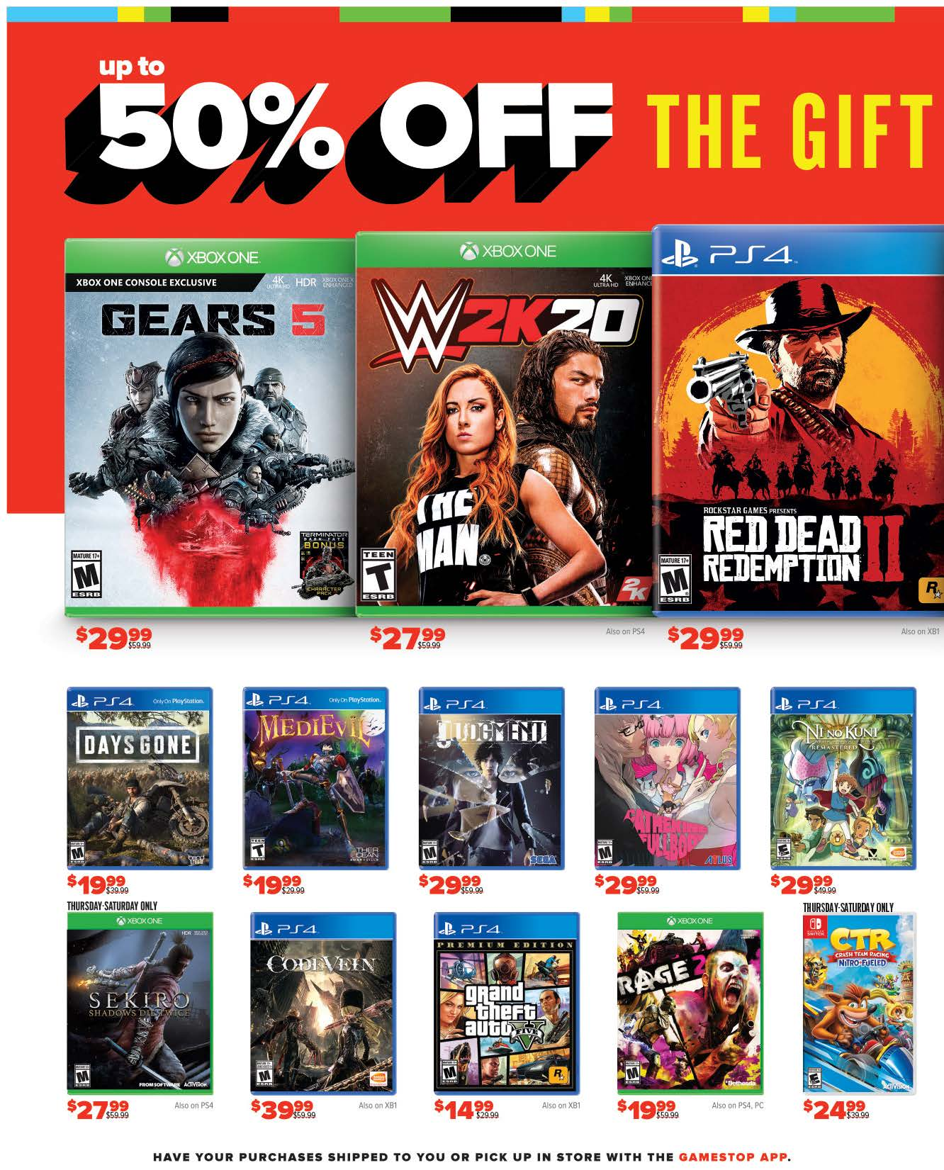 GameStop Black Friday 2019 Page 2