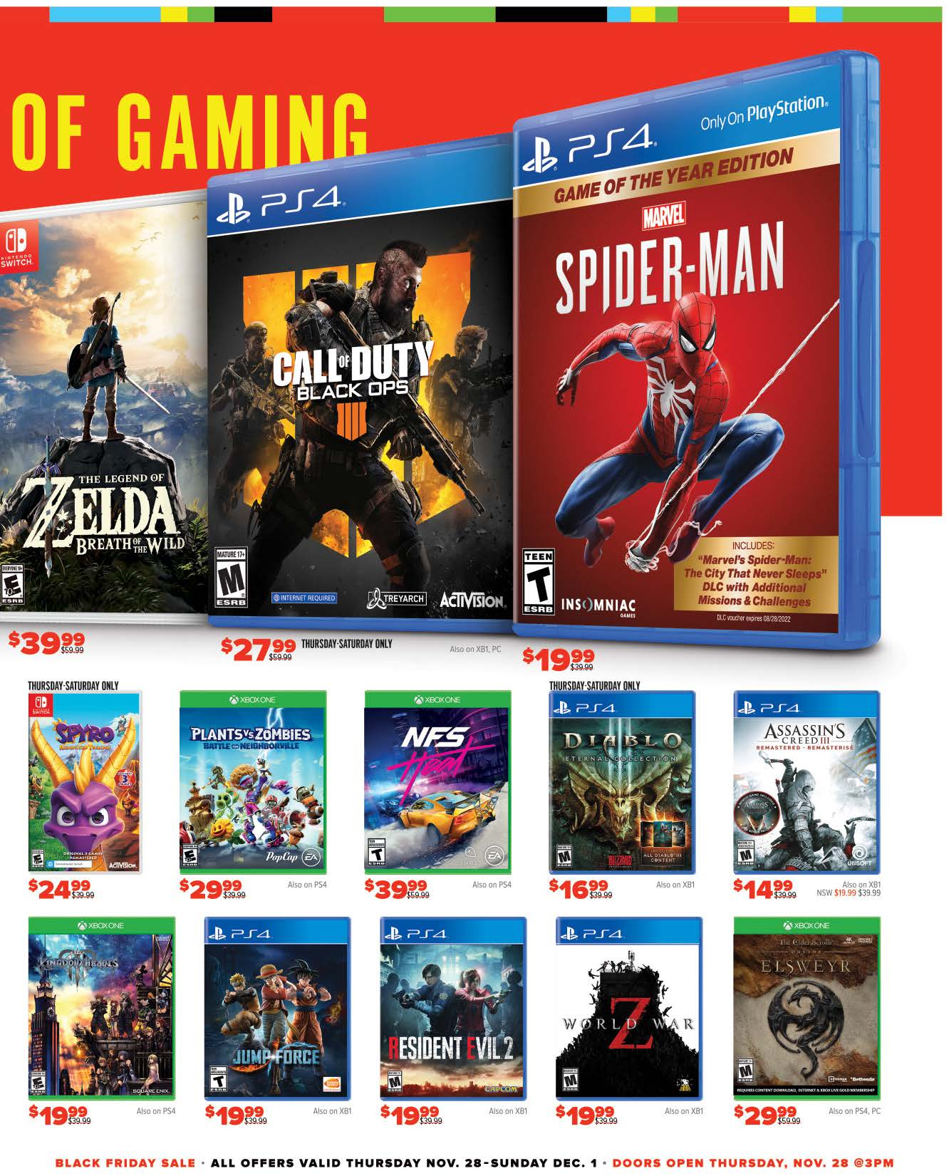 GameStop Black Friday 2019 Page 3