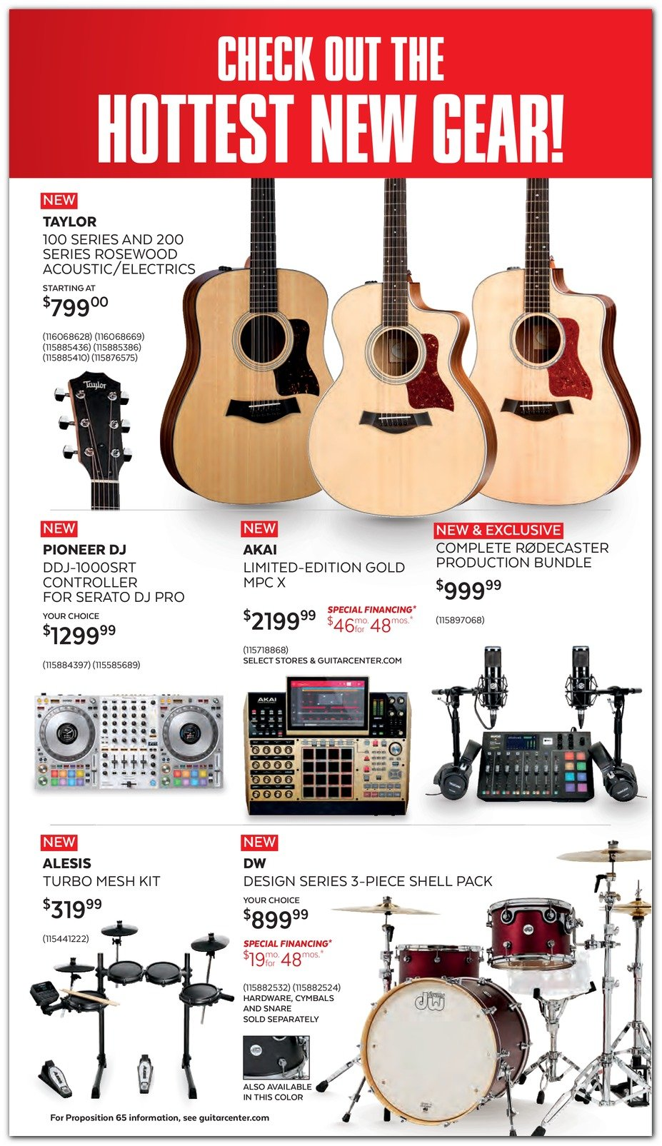 Guitar Center Black Friday 2019 Page 2