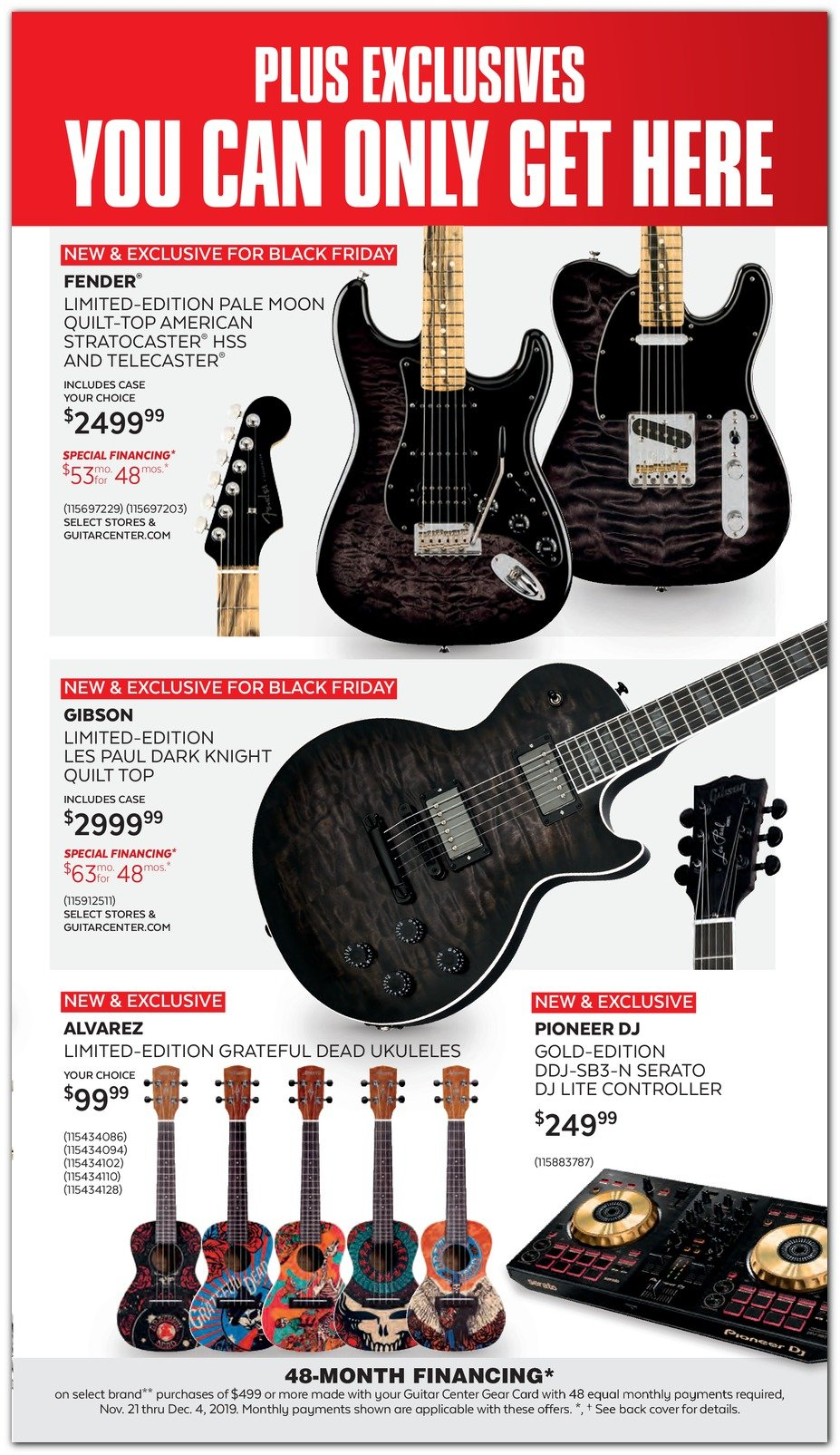 Guitar Center Black Friday 2019 Page 3